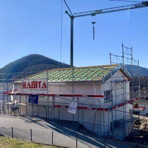 Cantiere lato valle Novaggio